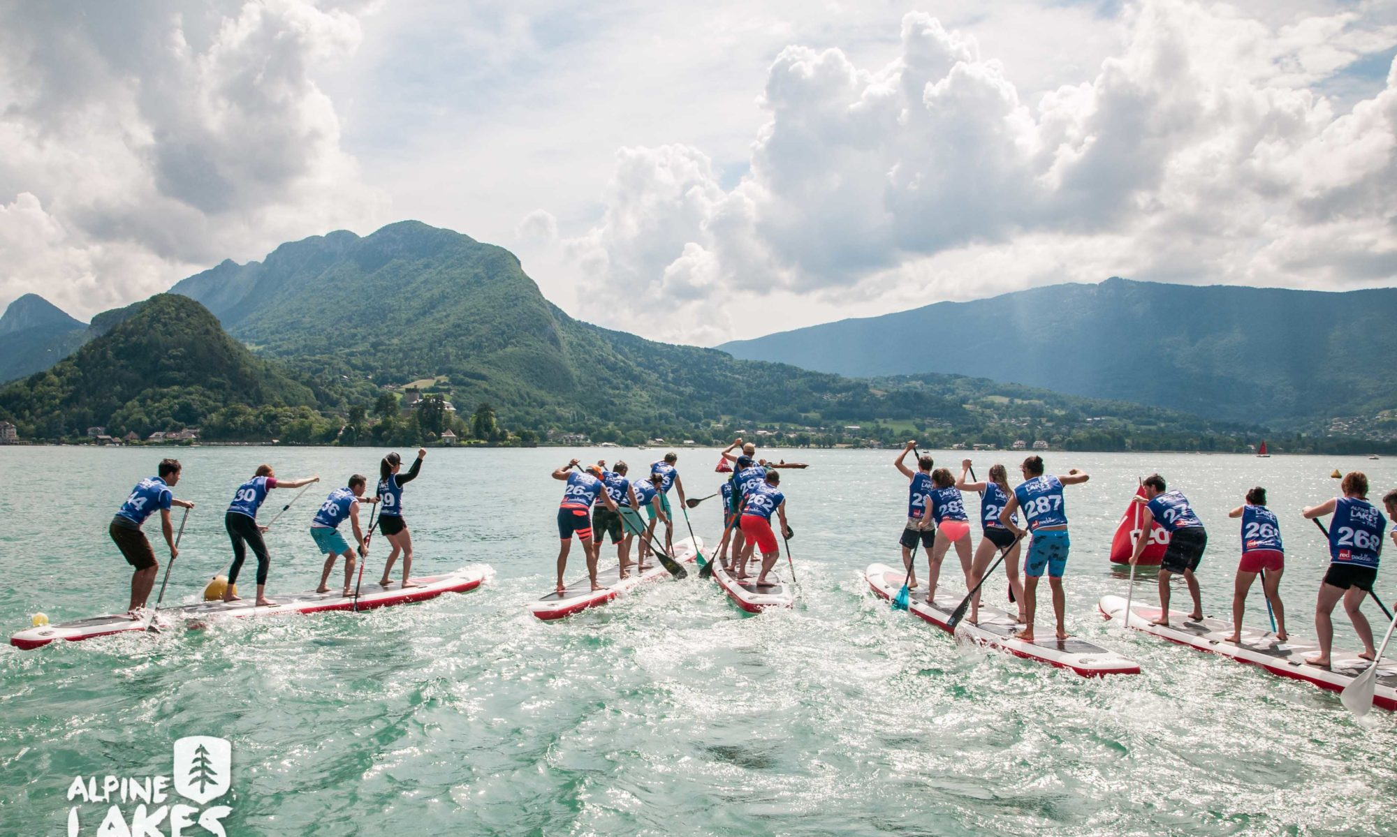 Lake Annecy Paddleboarding